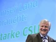 CSU-Parteitag Horst Seehofer