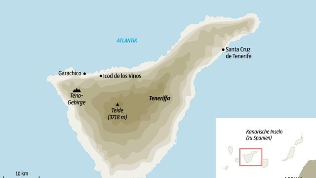 Teneriffa Spanien