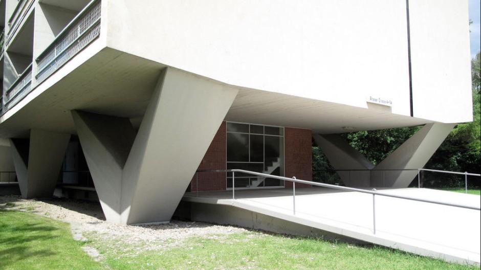 Architektur Einziges Niemeyer-Haus in Deutschland