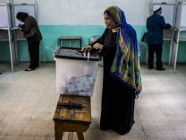 ***BESTPIX*** Egyptian Vote In Constitutional Referendum