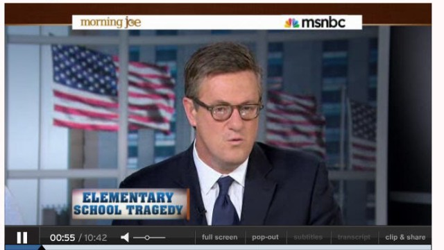 Joe Scarborough Morning Joe MSNBC
