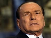 Berlusconi Italien Wahl Monti Euro