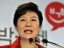 Park Geun-Hye Südkorea Wahlen