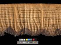 Älteste Bibel-Fragmente in bester Bildqualität online verfügbar