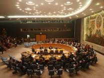 Der UN-Sicherheitsrat in New York Israel Siedlungsbau Westjordanland