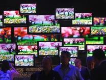 Fernsehen Fernseher Fernsehgerät TV TV-Gerät Bildschirm