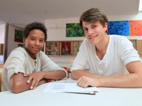 Hauptschule Hauptschüler Studenten Hochschulen Paten