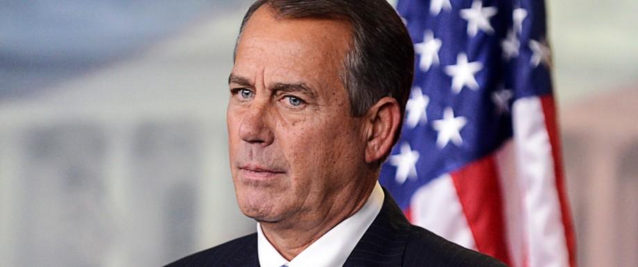 US Speaker of the House John Boehner