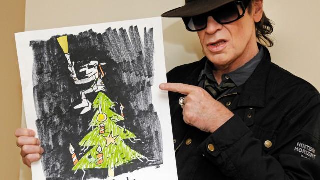 "´Udo Selige"": Lindenberg gestaltet Unicef-Weihnachtskarte"