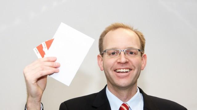 Spende von der Deutschen Bahn für Adsventskalender