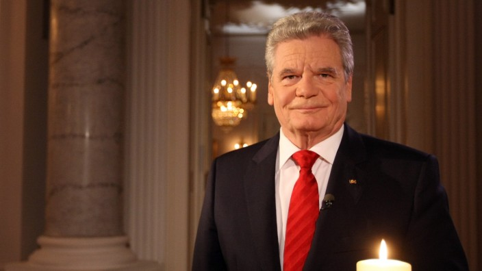 Weihnachtsansprache des Bundespräsidenten Joachim Gauck