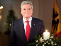 Weihnachtsansprache des Bundespraesidenten