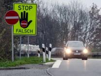 Geisterfahrer, Unfall, Verkehr, Kommunikationstechnologie
