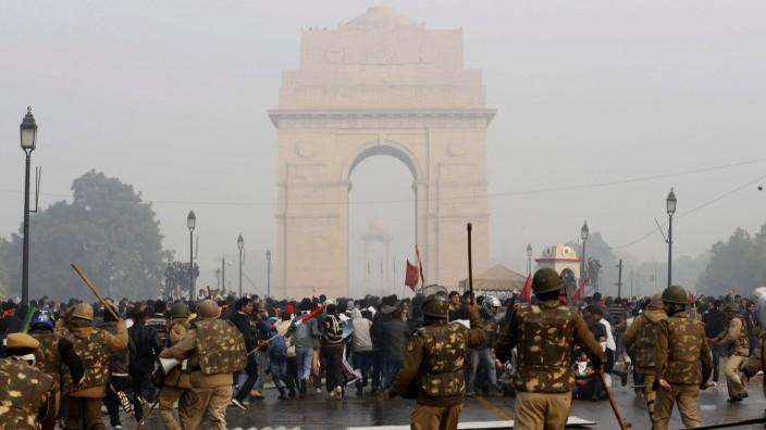 Anti-rape protest in New Delhi