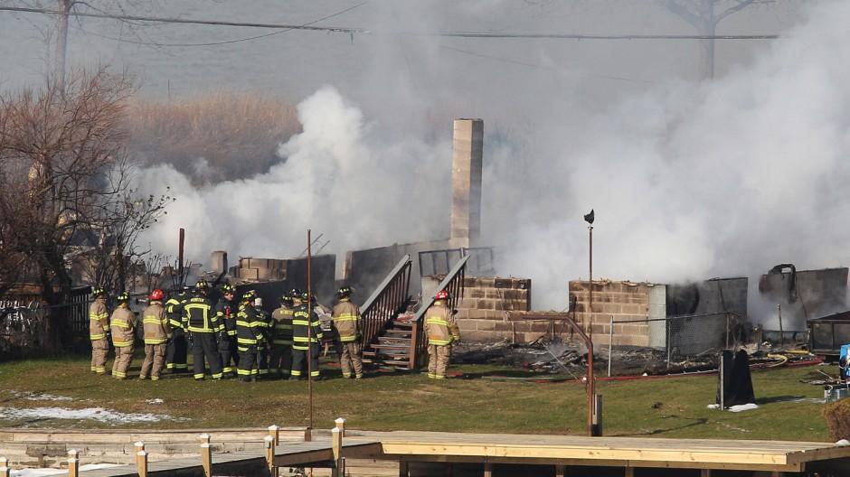 Kriminalität in den USA Tote Feuerwehrmänner im Bundesstaat New York