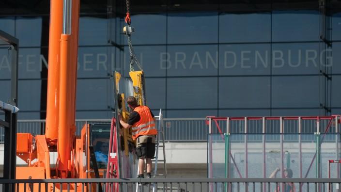 Bauarbeiten am Hauptstadtflughafen sind kaum vorangekommen