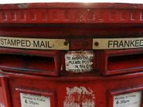 Britische Post plant Streik