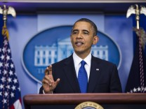 Obama Speaks on Fiscal Cliff Negotiations at White House