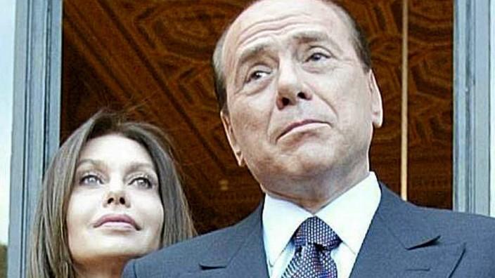 Veronica Lario und Silvio Berlusconi
