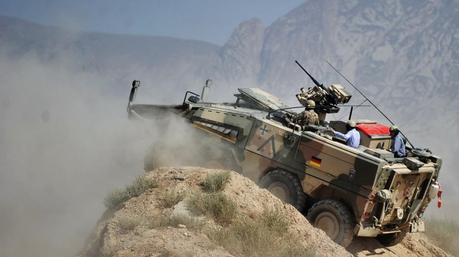 De Maiziere in Afghanistan