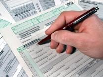 Formular für die Lohn- und Einkommensteuererklärung für das Jahr 2002