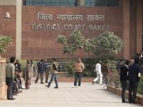 Mutmaßliche Vergewaltiger in Indien vor Gericht