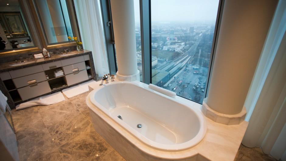 Waldorf Astoria Berlin Badezimmer Städtereise