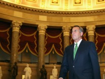 House Deliberates On Budget Deal Past Fiscal Cliff Deadline