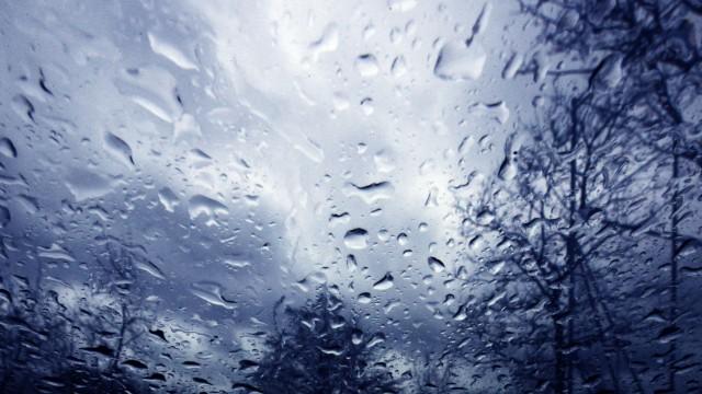 Germering: Schmuddelwetter aus der Autofahrer-Perspektive