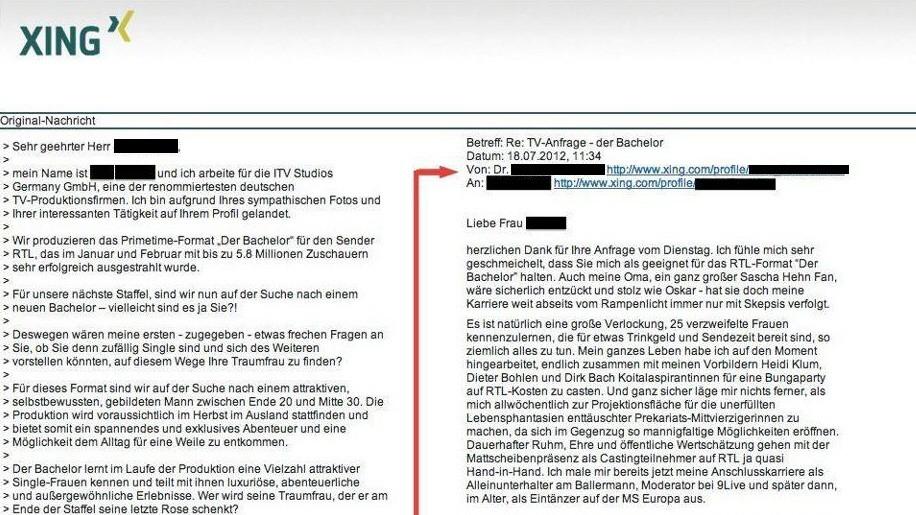 Kandidatensuche Für Rtl Absage Vom Anti Bachelor Medien