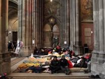 Wien: Asylbewerber im Hungerstreik