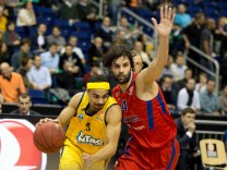 Basketball EuroLeague Alba Berlin - ZSKA Moskau