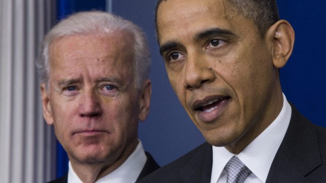 Obama and Biden Announce Policy Efforts to Curb Gun Violence