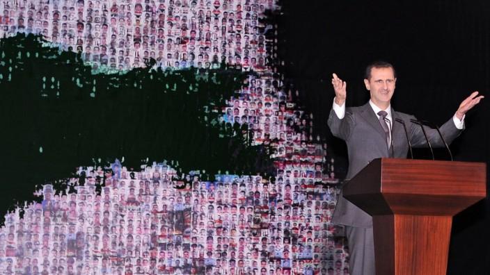 Syrian President Bashar Assad speech