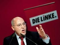 Gregor Gysi Linke Linkspartei Bundestagswahl Spitzenkandidat