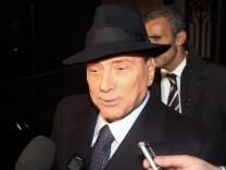 Berlusconi Monti Wahlen Italien