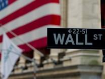 Wall, Street, Banken, US-Zwangsräumungen