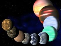 Erdähnliche Planeten