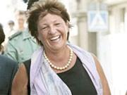 Ulla Schmidt am 27. Juli in Spanien, dpa