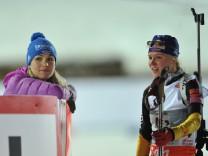 Biathlon-Weltcup Ruhpolding - 4 x 6 km Damen