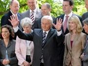SPD, Steinmeier, Schattenkabinett, Foto: ddp
