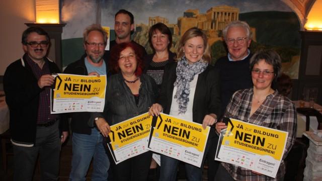Buendnis gegen Studiengebuehren, Ebersberg