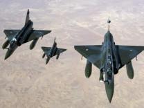 Französische Flugzeuge: Militäreinsatz in Mali