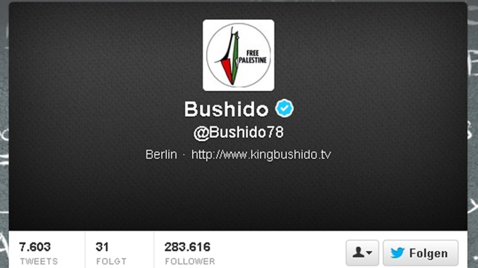 Bushido bei Twitter