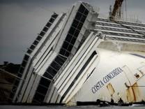 """Jahrestag des """"Costa Concordia""""-Unglücks"""