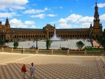 Sevilla Spanien Drehorte Star Wars Lawrence von Arabien