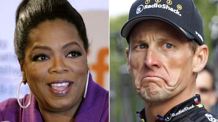 Lance Armstrong und Oprah Winfrey