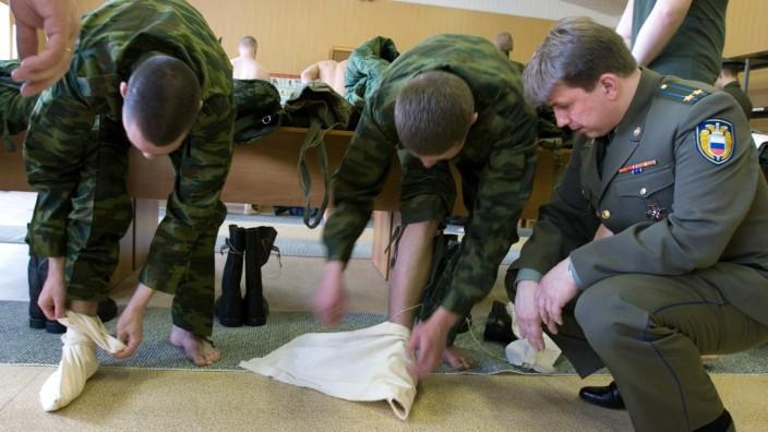 Russiche Armee führt Strümpfe ein