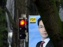 Umfrageschock für die FDP