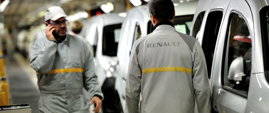 Renault, Stellenabbau, Frankreich